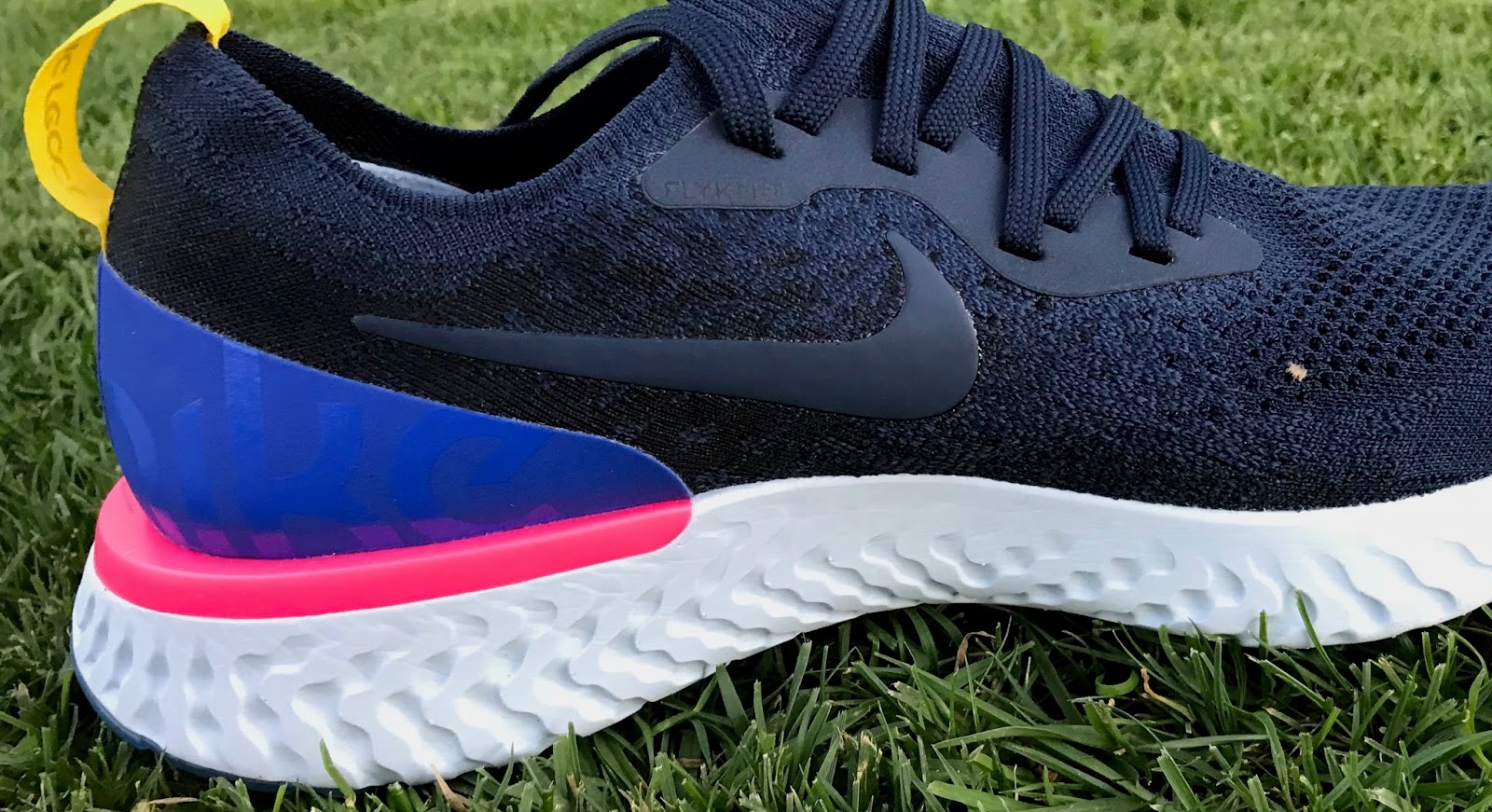 new concept fa179 25cca Peter  One of the first things you might notice about the Nike Epic React  is the way the midsole flanges out around the heel to create a little ledge.
