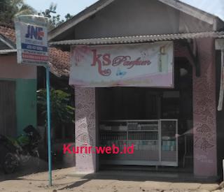 Alamat agen JNE di Lebak, Banten.