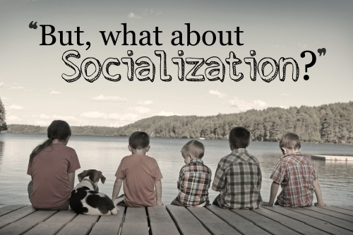 """But, what about socialization?""- Are homeschooled kids weird? Can they be social? One former public school teacher turned homeschooling mom tells all."