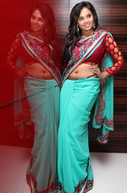 Actress Aarushi Navel Show Photos