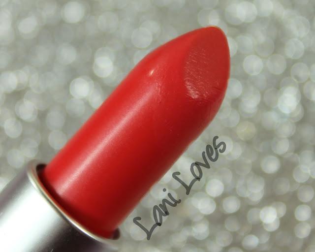 MAC Toying Around Lipstick Swatches & Review