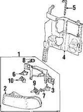 2011 Acura RDX Headlamp Components Assembly Parts Diagram