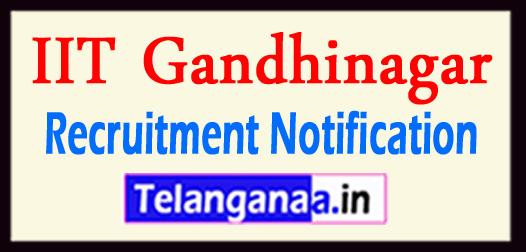 IIT Gandhinagar Recruitment Notification 2017