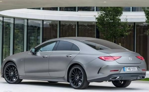 Leaked Photos Of The 2018 Benz CLS