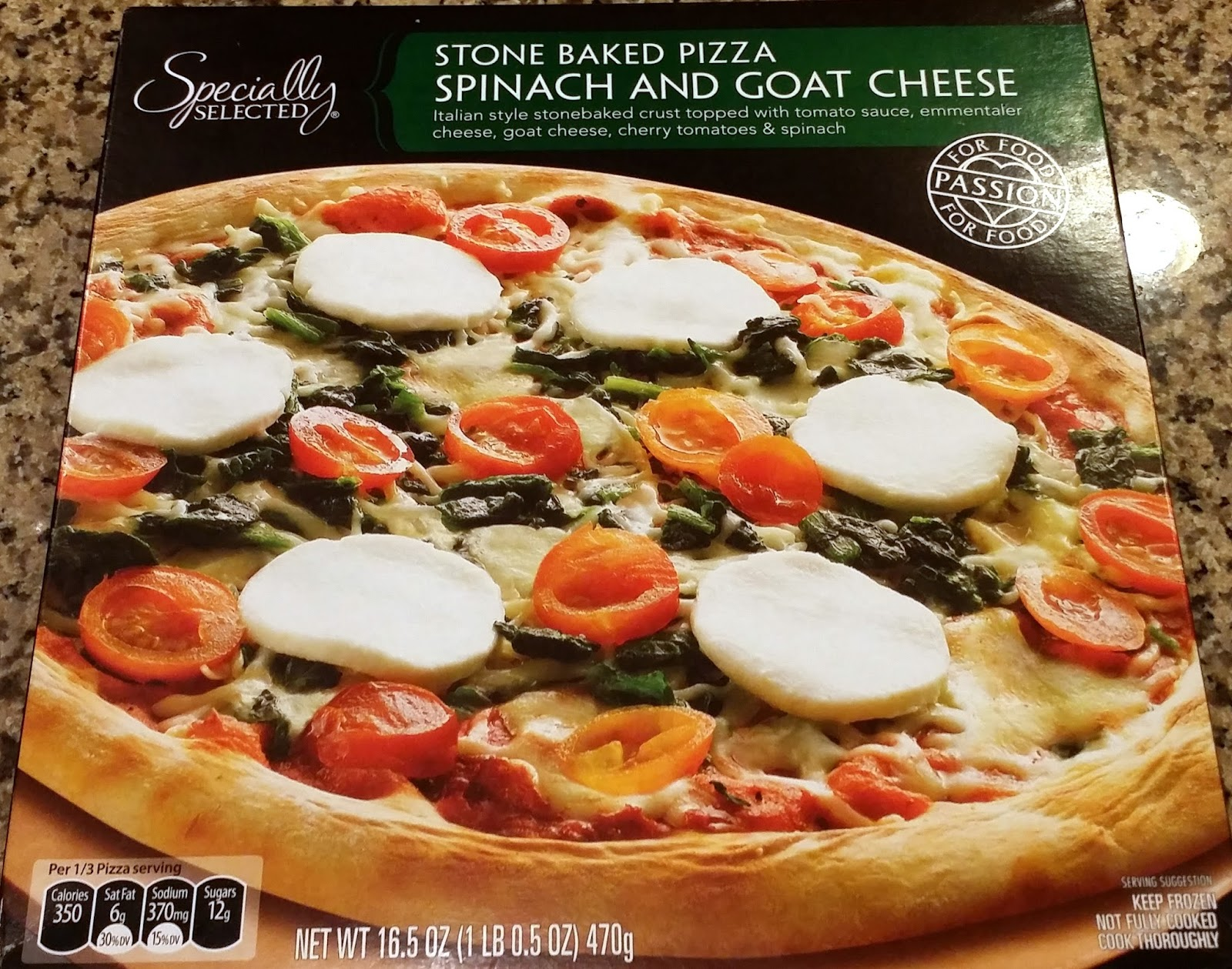 Pizza Quixote Review Specially Selected Stone Baked Pizza