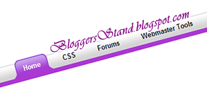 How To Add Glossy Style Curved Navigation Menu Bar For Blogger
