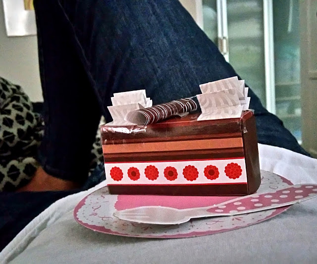 origami cake from daiso japan