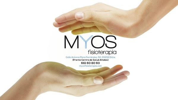 Centro de Fisioterapia en Elche, Myos Fisiotrerapia
