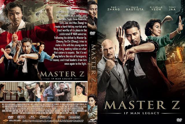 Master Z: IP Man Legacy DVD Cover