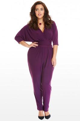 fashion to figure jumper, fashion to figure purple jumpsuit, jumpsuit