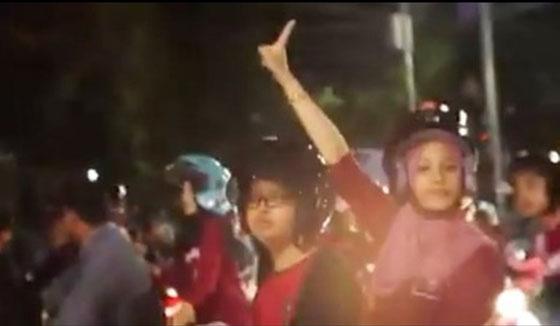Video Pelajar Konvoi Sambil Bunyikan Klakson di Jalan Kota Semarang Jadi Viral