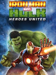 Người sắt và người khổng lồ xanh: Liên minh anh hùng - Iron Man and Hulk: Heroes United (2013)   Full HD VietSub
