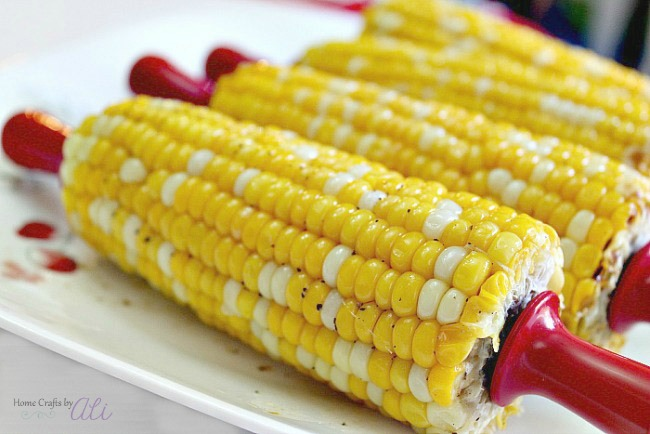 sweet and delicious corn on the cob