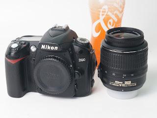 Kamera DSLR Second Nikon D90
