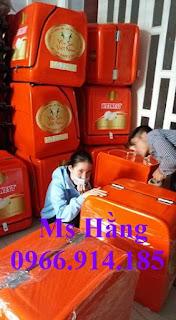 Thùng giao hàng tiếp thị,thùng giao đồ ăn vặt