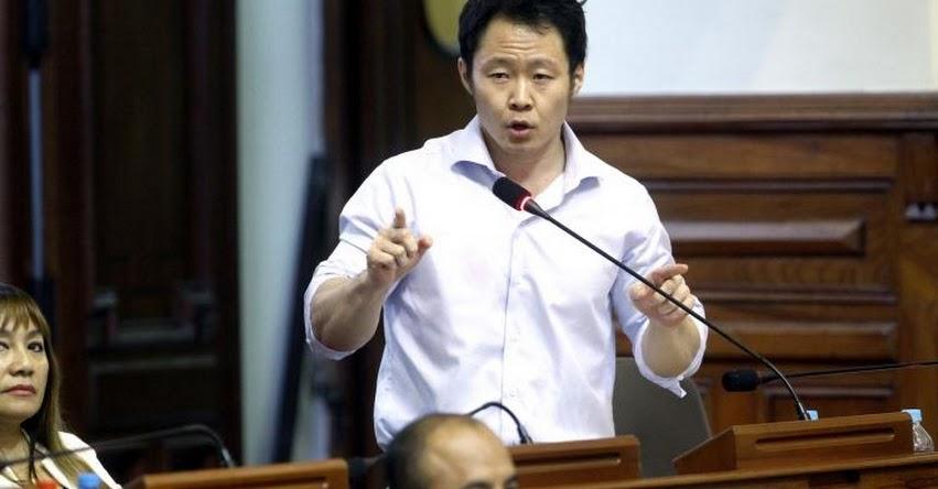 Congresista Kenji Fujimori critica a su bancada «Fuerza Popular» por favorecer a Religiosos Católicos del Sodalicio por casos de abusos sexuales a menores