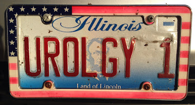 Illinois personalized vanity licence plate UROLGY