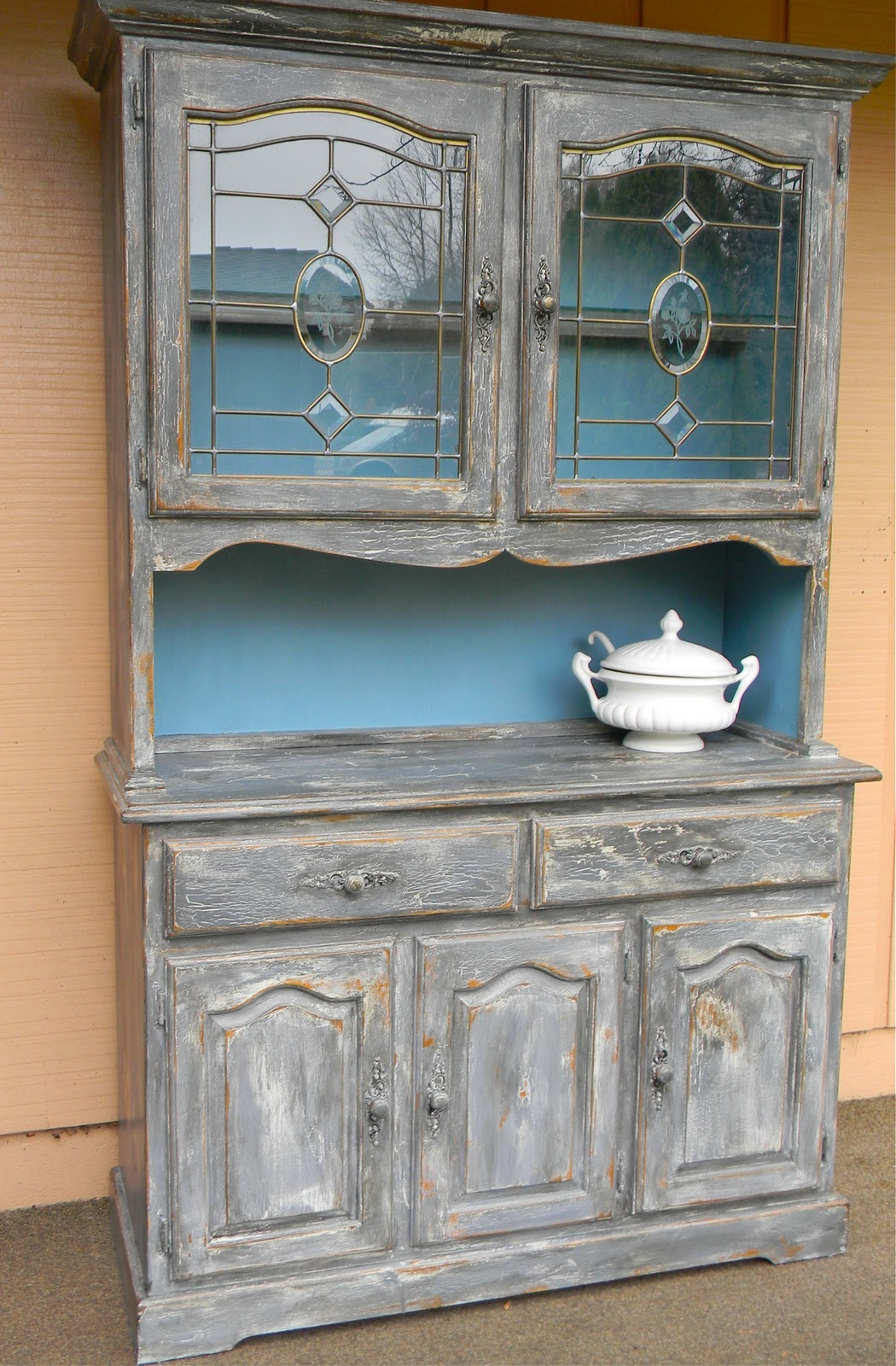 Emily S Up Cycled Furniture Farmhouse Hutch