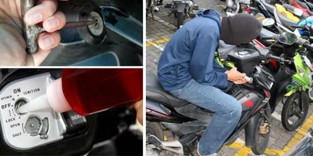 Lima remaja Pekanbaru nekat curi motor di asrama polisi