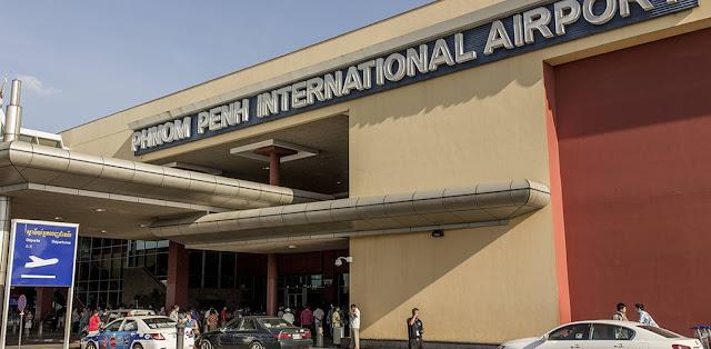 Phnom Penh International Airport in Cambodia