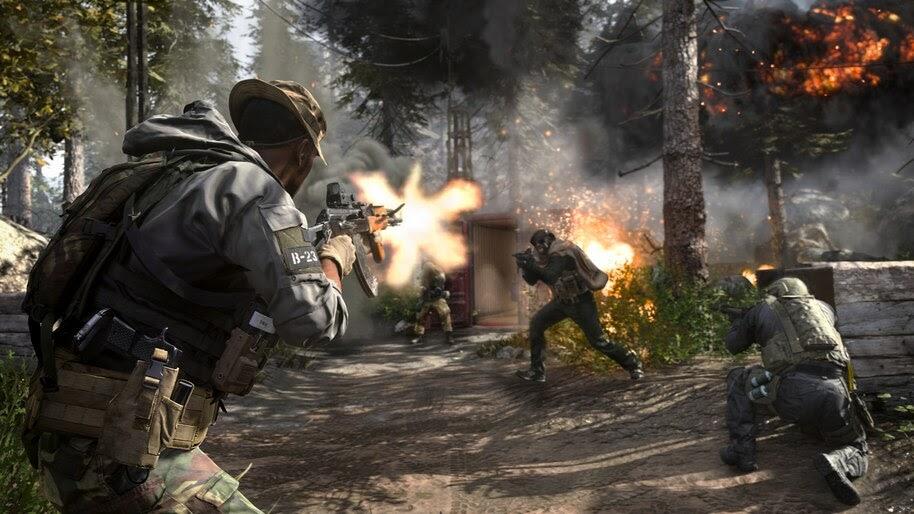 Call of Duty Modern Warfare, Soldier, 4K, #5.997
