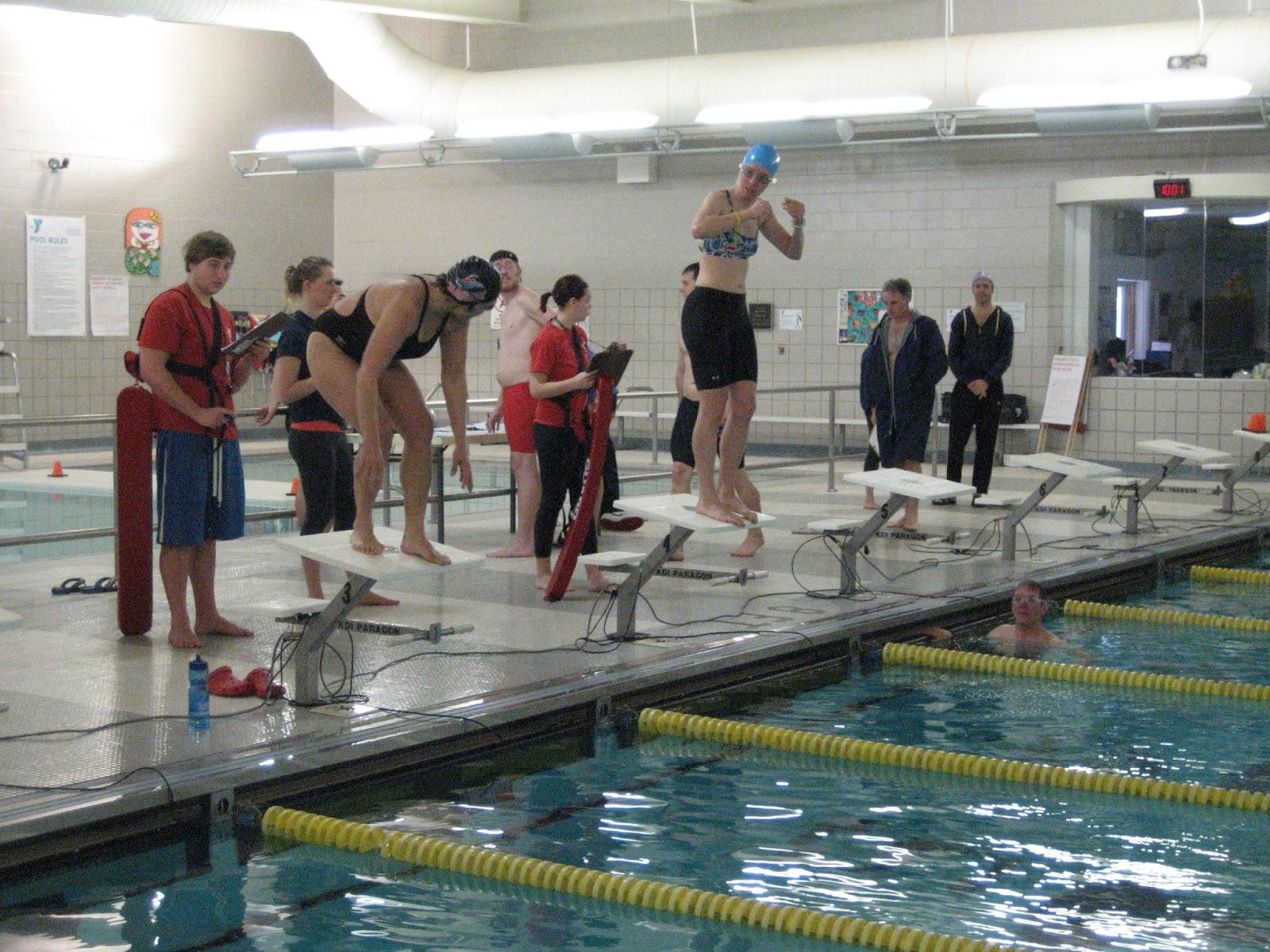 Training Racing Living My First Swim Meet