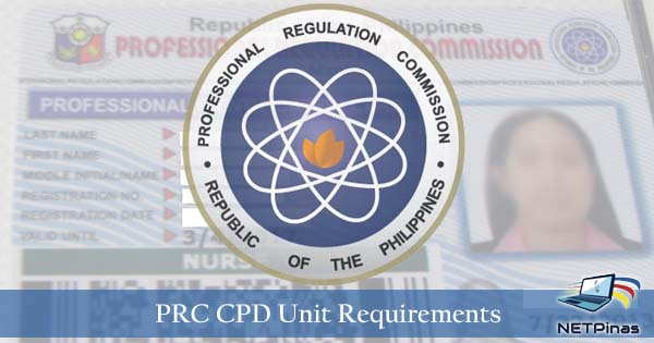 PRC CPD unit requirements