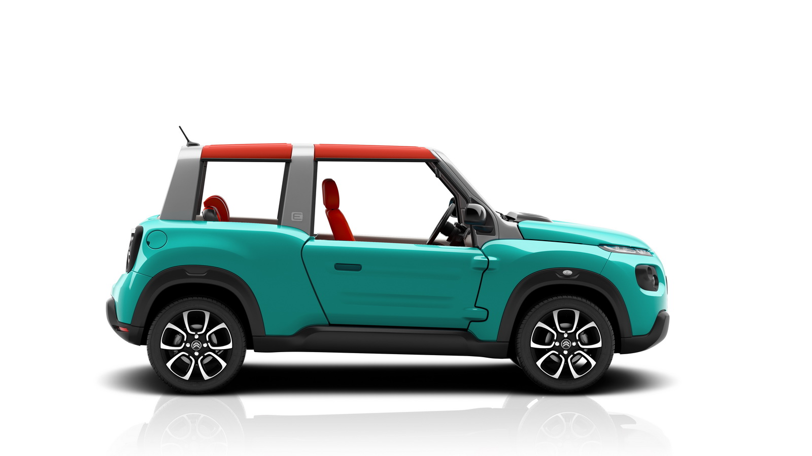 citroen reveals all electric e mehari buggy on sale next year. Black Bedroom Furniture Sets. Home Design Ideas