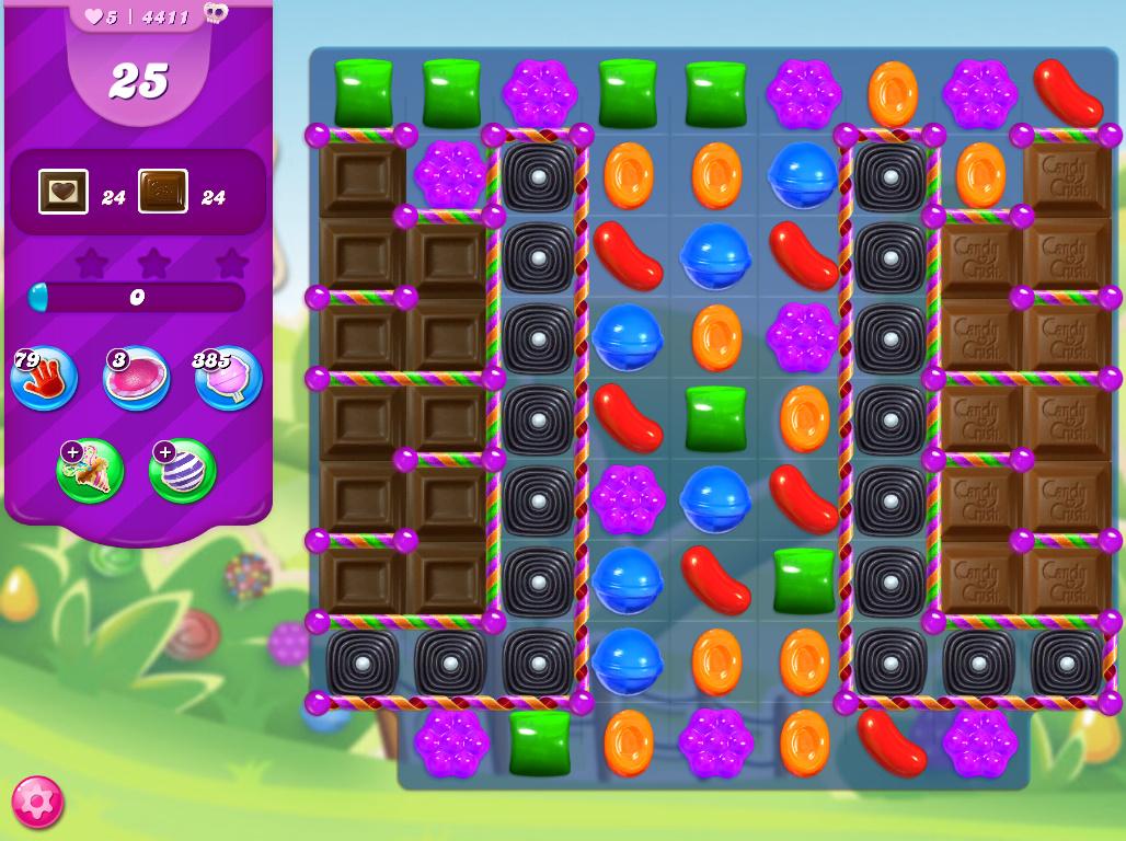 Candy Crush Saga level 4411