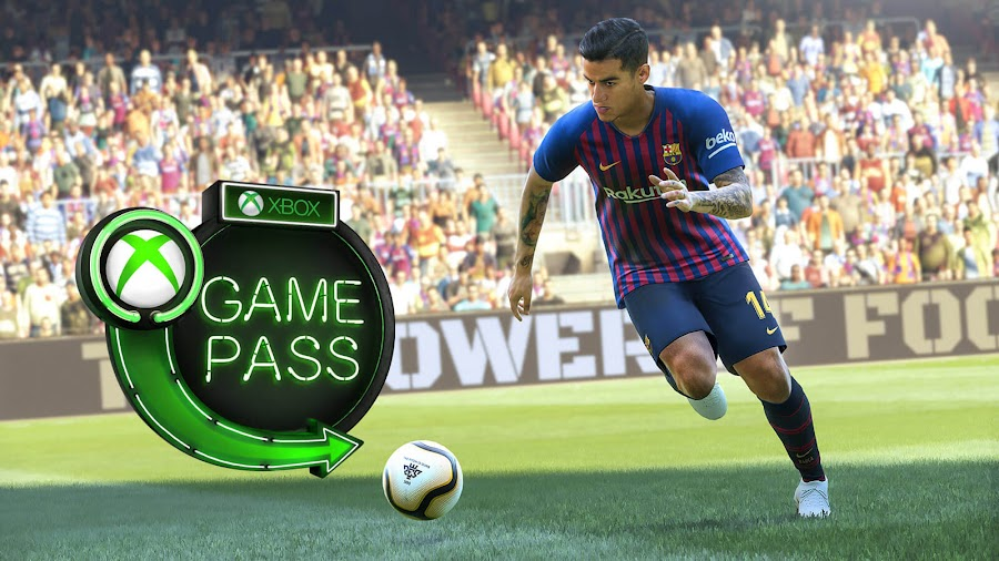 xbox game pass game awards 2018 pro evolution soccer 2019