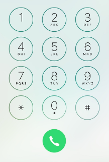 free to find truth: 9 26 45 351   The Apple iPhone key pad and the