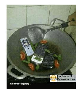 handphone mau dimakan