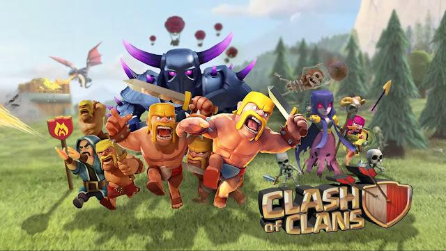 تحميل لعبة Clash of Clans مهكرة مجانا