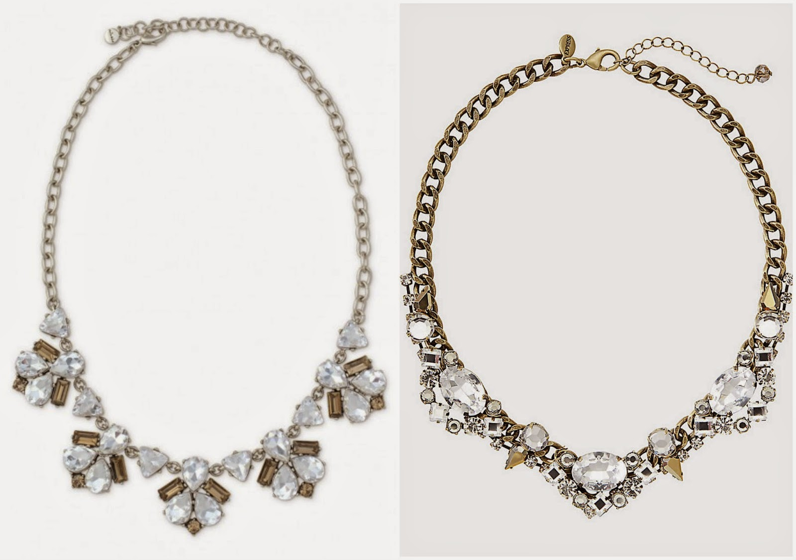 Stella & Dot lookalike pieces from Express, budget options