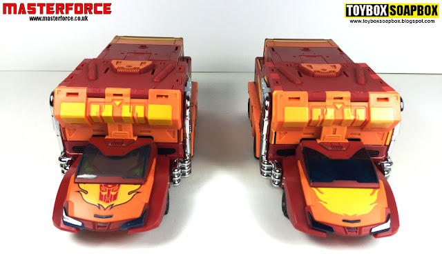 dx9 carry rodimus test shot