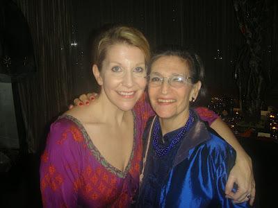 Karen with mezzo-soprano JOYCE DiDONATO