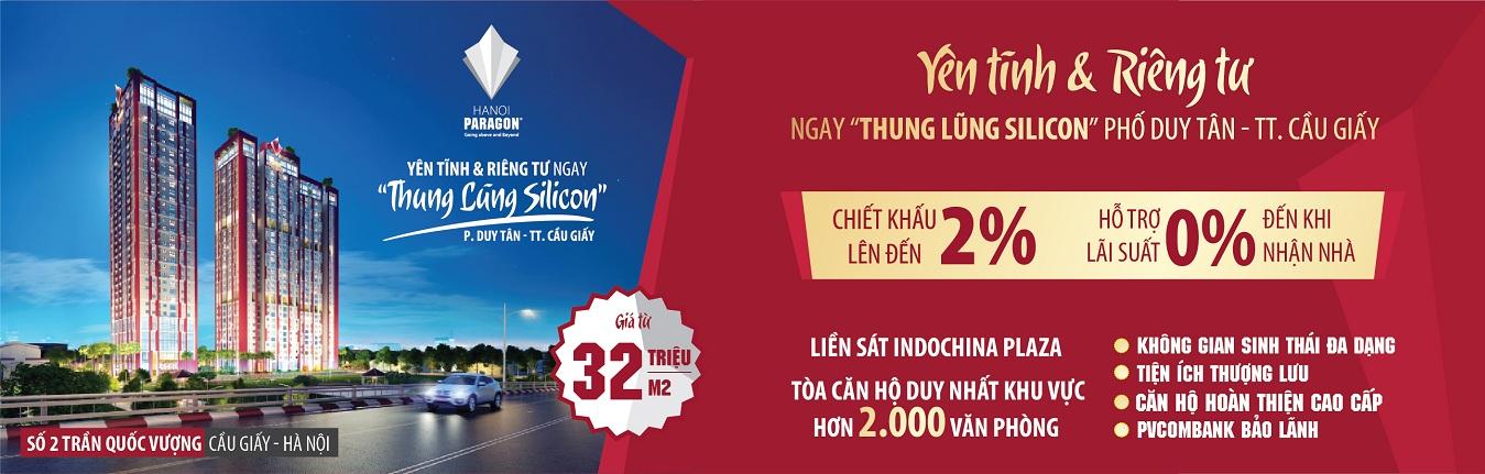Dự án chung cư Hà Nội Paragon