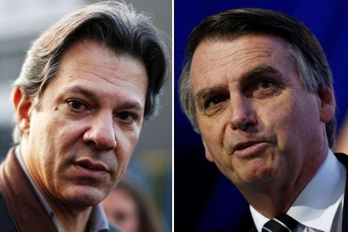 Eleições: Bolsonaro e Haddad vão para o 2º turno