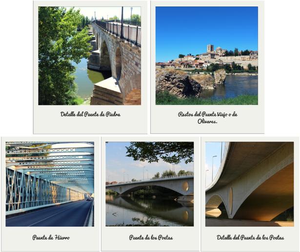 zamora la bien cercada puentes piedra hierro de los poetas romano