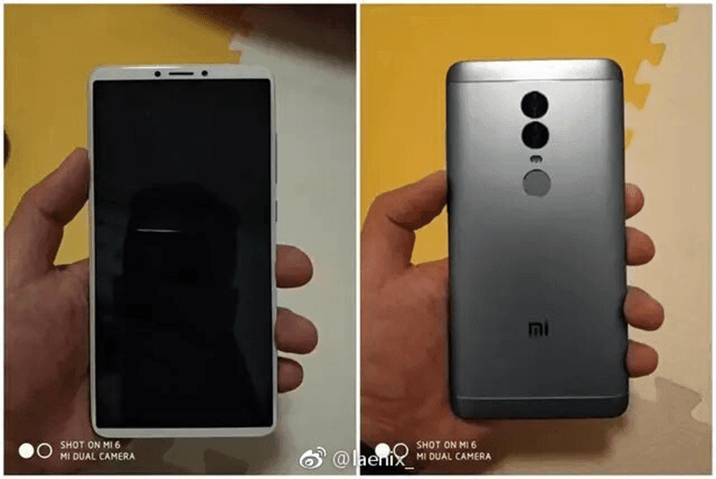 Is This The Actual Xiaomi Redmi Note 5 Protype?