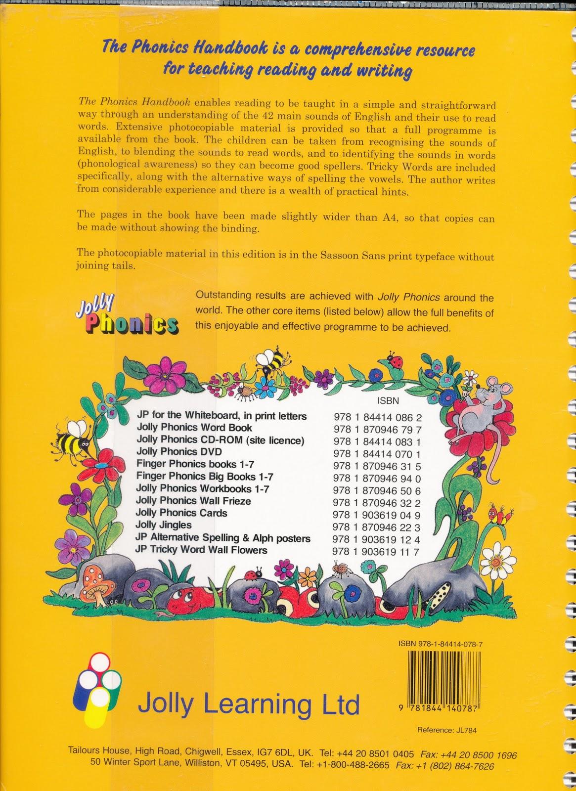 Edu House The Phonics Handbook