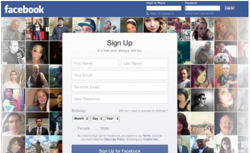 Facebook Desktop Site Login