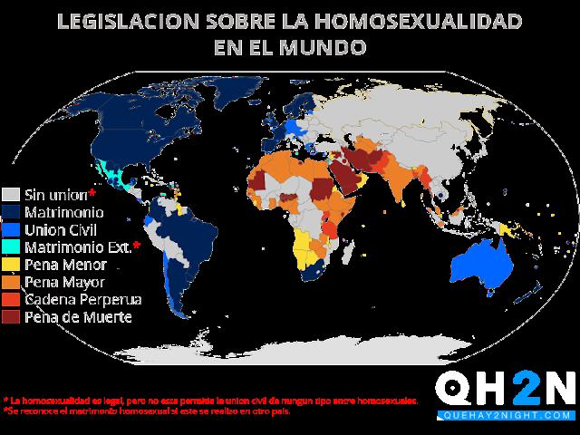 homosexualidad pena de muerte paises ilegal legal