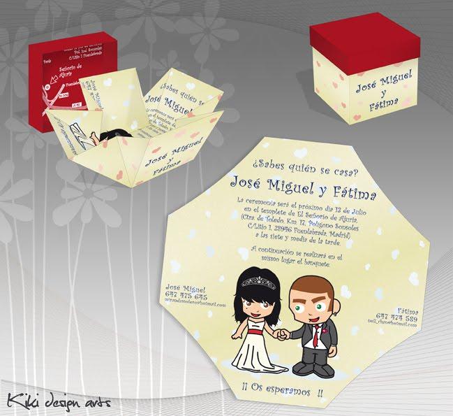 Diseño De Tarjetas De Casamiento