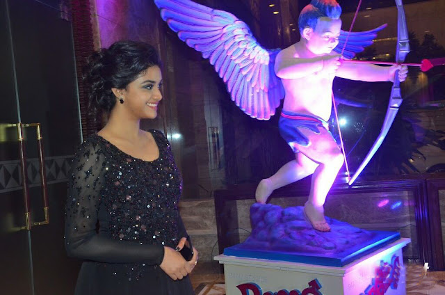 Keerthy Suresh in Black Gown at Remo Thanks Meet