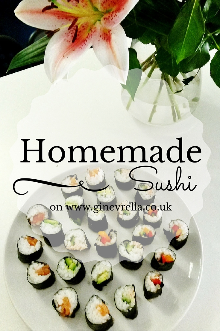 How to make your own homemade sushi