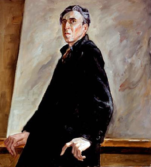 Clyfford Still, Self Portrait, Portraits of Painters, Fine arts, Portraits of painters blog, Paintings of Clyfford Still, Painter Clyfford Still