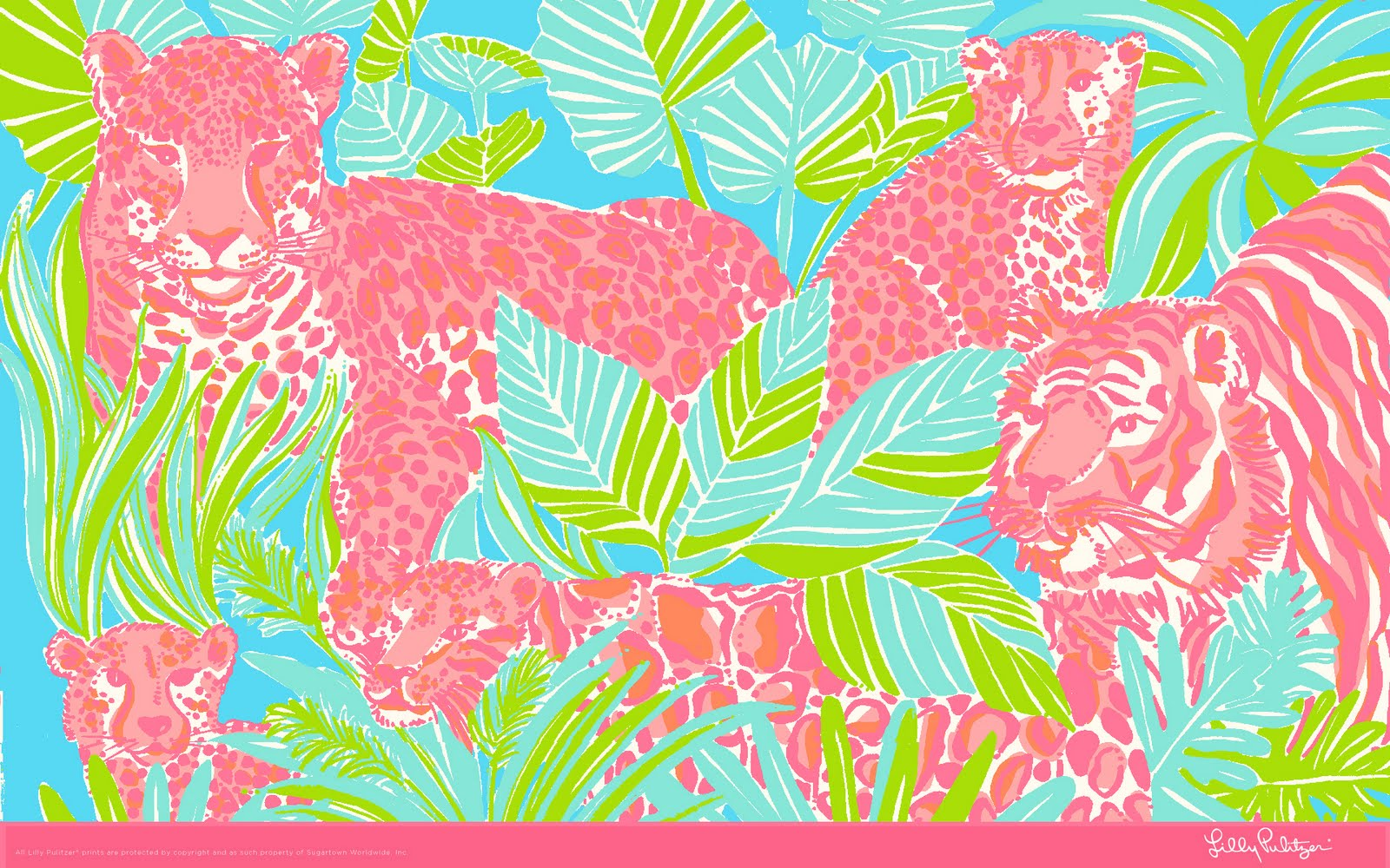 FREE Lilly Pulitzer Desktop Wallpapers | Shopaholics Anonymous | Blog