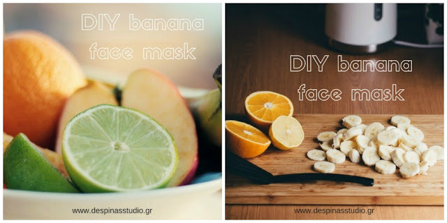 DIY homemade banana face masks