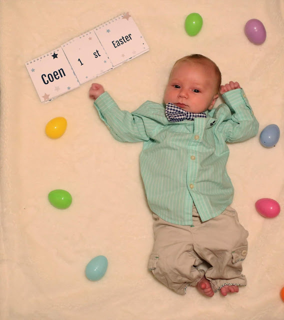 Baby's First Easter Photos